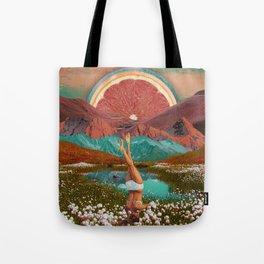 Grapefruit valley Tote Bag