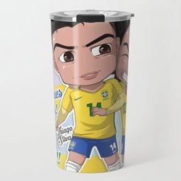 Jogadores Brasileiros Travel Mug