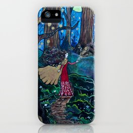 Magic at Midnight iPhone Case