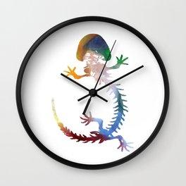 Hellbender Skeleton Wall Clock