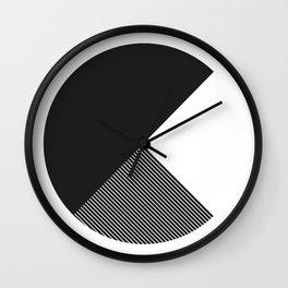 #488 cut Wall Clock
