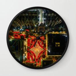 Cologne Christmas Market Wall Clock