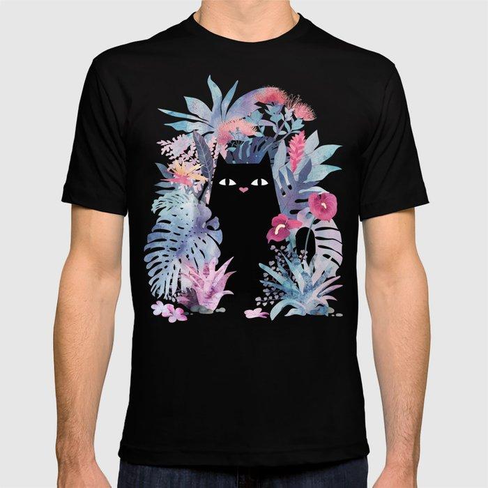 Popoki (Pastel Black Velvet) T-shirt