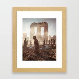 The Last Minutes Framed Art Print