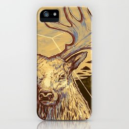 Stag Dimension of Dust iPhone Case