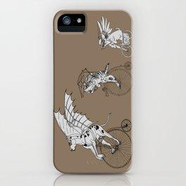 Steam Punk Pets iPhone Case