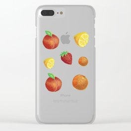Fruit punch Clear iPhone Case