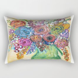 Bouquet II Rectangular Pillow