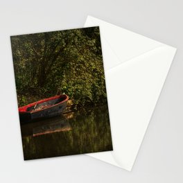 Dinghy On The Oxford Canal Stationery Cards