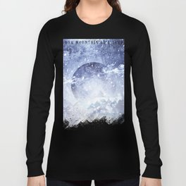 Even mountains get cold Long Sleeve T-shirt