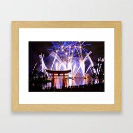 IllumiNations Framed Art Print