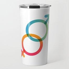 Symbols of Love #3 Travel Mug
