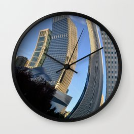 A different view Wall Clock