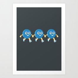 bean friend Art Print