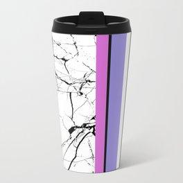 AMPS Tres - Abstract, Marble, Pastel, Stripes Travel Mug
