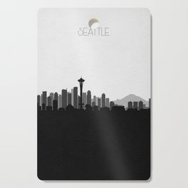 City Skylines: Seattle (Alternative) Cutting Board