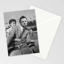 Michael Myers in Roman Holiday Stationery Cards