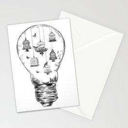 Aquarium Bulb Bird Houses Stationery Cards