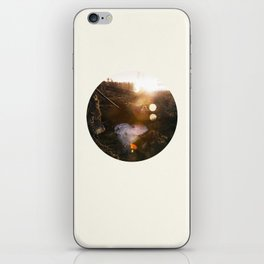 Frozen Puddle iPhone Skin