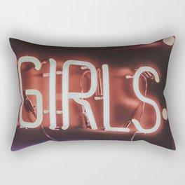 GIRLS NEON Rectangular Pillow