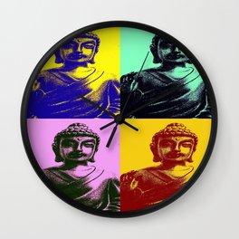 Colorful Buddha Wall Clock