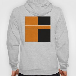 Team Colors 6....Orange,black Hoody