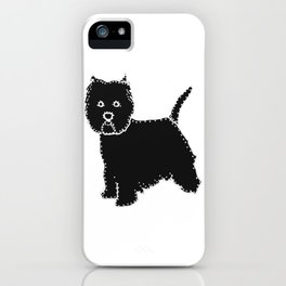 I have Connected the WESTIE Doggy Dots! iPhone Case