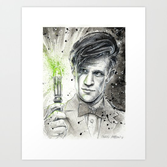 Doctor Who: The 11th Doctor Art Print