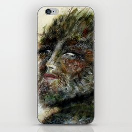 Greenman iPhone Skin