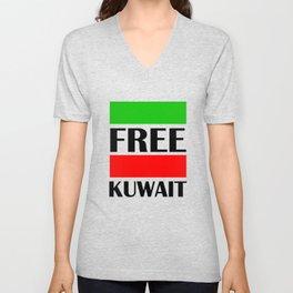 Kuwait Freedom Unisex V-Neck