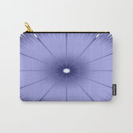 Periwinkle Flower Carry-All Pouch