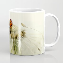 Dandelion Ladybugs Coffee Mug