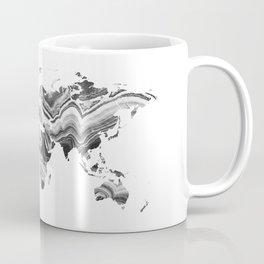 world map agate marble texture Coffee Mug