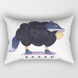 Baaad Baaad Black Sheep Rectangular Pillow