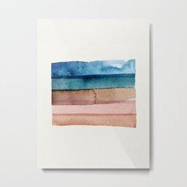 Desert Slides Metal Print