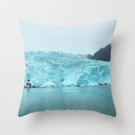 Wall of Ice Throw Pillow