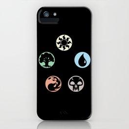 MTG Symbols iPhone Case