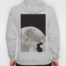 Bunny Wishes on Moon Hoody