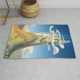 Mythical Places - Mount Olympus Rug