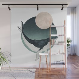 by the light of the moon Wall Mural