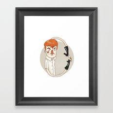 Dexter (Alphabet series TV) Framed Art Print