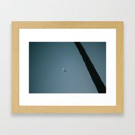 Moon Flight Framed Art Print