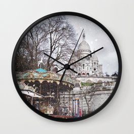 Paris, Montmartre Wall Clock