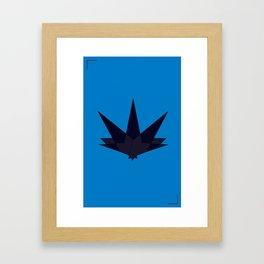 Geomo Poster 4 Framed Art Print