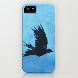 As The Crow Flys iPhone Case
