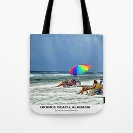 Orange Beach, Alabama Tote Bag
