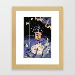 Tomodachi Framed Art Print