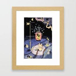 Tomodachi Framed Art Print