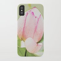lotus iPhone & iPod Cases featuring Lotus by Karl-Heinz Lüpke