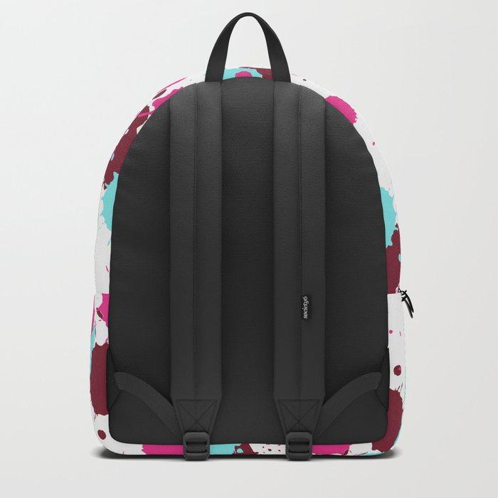 Pop Art Paint Shine Backpack